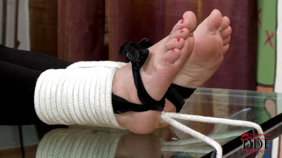 Bondage and foot whipping [Part 1]