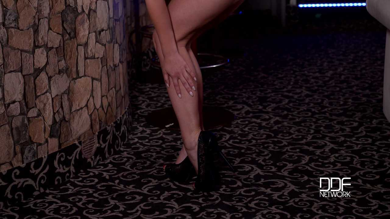 More Than A Lap Dance - Striptease Babe Sucks Her Sexy Toes