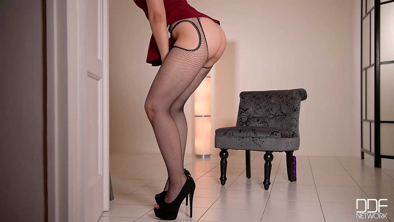 Feet Worship - Flexible Hungarian Babe Likes To Lick Shoes